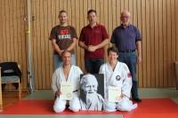 Danprüfung für Andreas Frewer und Heike Rüping
